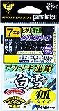 がまかつ(Gamakatsu) ワカサギ連鎖 白雪 狐 7本 W233 1-0.2.