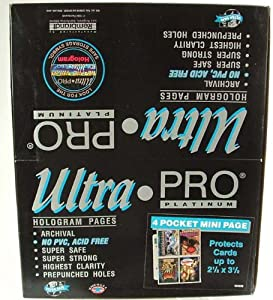 Ultra Pro 10 (Ten) Ultra PRO 4 Pocket Mini Pages (214-D) Designed for Zippered Album UPR 81228 at Sears.com