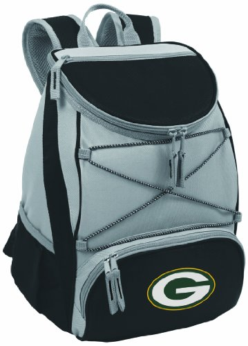 NFL Green Bay Packers PTX Insulated Backpack Cooler, Black at Amazon.com