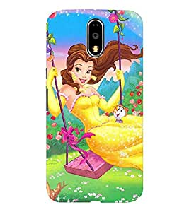 EPICCASE the fairy tale princess Mobile Back Case Cover For Moto G4 / G4 Plus (Designer Case)