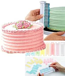 Wilton 2104-12 Icing Sculptor Set with Handle and 64 Design Blades