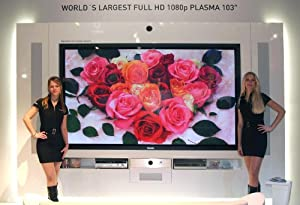 PANASONIC TH103PF10UK 103-inch 1080p High Definition Professio