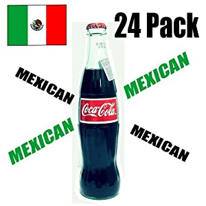 Mexican Coke - Drink Coca Cola -12 Oz. (24 Pack)