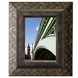 Lawrence Frames Bronze Scroll 8x10 Picture Frame