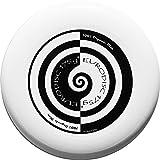 Eurodisc 175g Ultimate Frisbee Flying Disc 98% ORGANIC MATERIAL - SWIRL WHITE