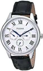 Pulsar Men's PP6173 Analog Display Japanese Quartz Watch with Black Strap