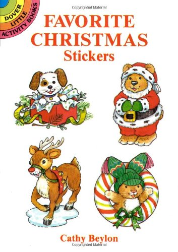 Favorite Christmas Stickers (Dover Little Activity Books Stickers)