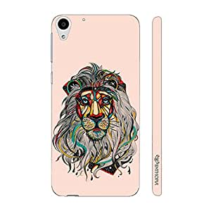 Enthopia Designer Hardshell Case Sporty Lion Back Cover for HTC Desire 728