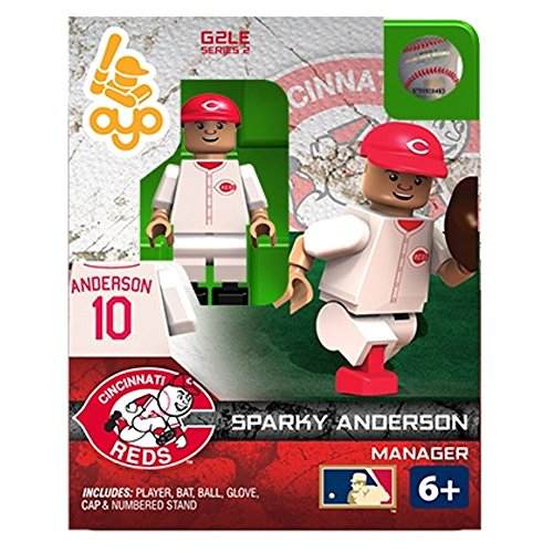Sparky Anderson MLB Cincinnati Reds Hall of Fame Oyo G2S2 Minifigure - 1