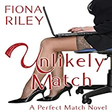 Unlikely Match Audiobook by Fiona Riley Narrated by Melissa Sternenberg