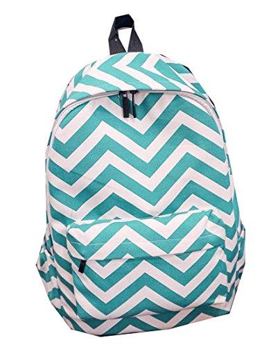 FXL Fashion School Backpack Basics Rucksack for School Student Sky Blue OS