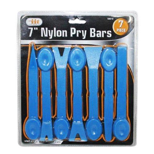 IIT 50010 7-Inch Nylon Pry Bar Set