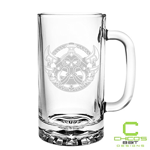 World of Warcraft - Rogue Class - Etched Beer Mug