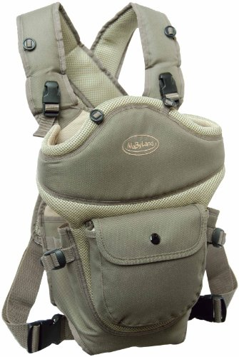 MaByLand Trek Snuggle Carrier with Blanket (Musky Brown) - 1