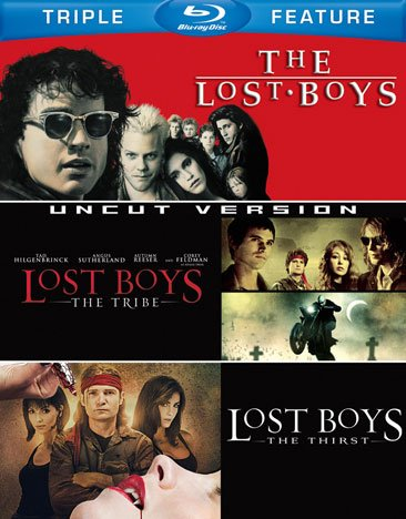 Lost Boys (1987/ Blu-ray) / The Lost Boys: The Tribe (Uncut/ Blu-ray) / The Lost Boys: The Thirst (Blu-ray)
