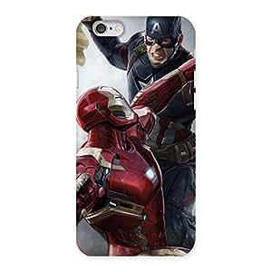 Premium Genius Vs Captain Multicolor Back Case Cover for iPhone 6 6S
