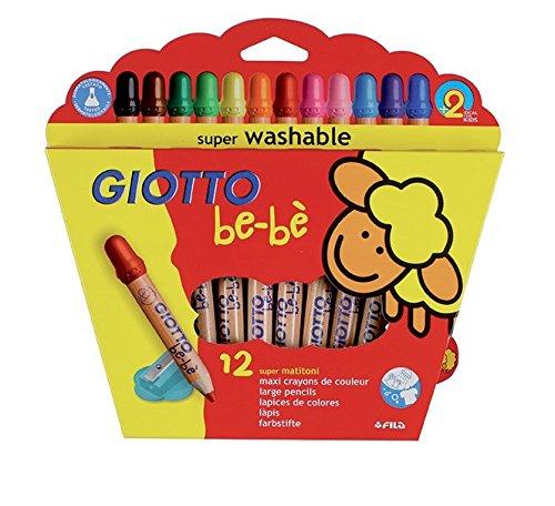 giotto-bebe-466500-supermatitoni-astuccio-12-colori-temperamatite