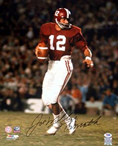 Joe Willie Namath Autographed Alabama 16x20 Photo PSA DNA