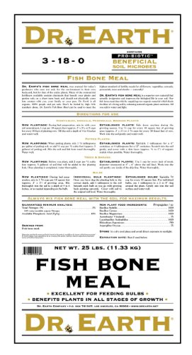 Dr earth 749 fish bone meal 25 pound for Fish bone meal