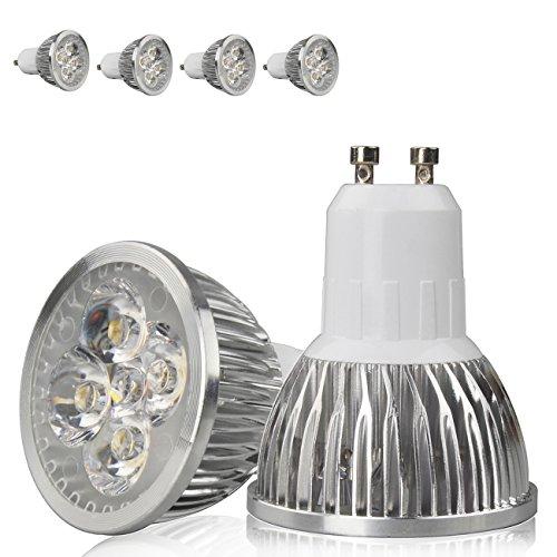 4X 8W Gu10 Led Light Bulbs, 35W Equivalent, 480Lm-560Lm, 30¡Ã Beam Angle, Recessed Lighting, Track Lighting, Warm White, 4X 2W Leds,Pack Of 4 Units