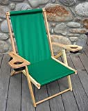 Blue Ridge Outer Banks Chair - Forest Green