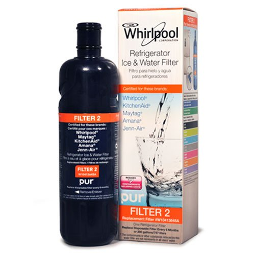 Whirlpool W10413645A Refrigerator Water Filter image