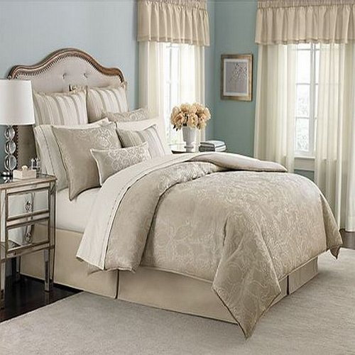 Martha Stewart Gated Garden King 24 Piece Comforter Bed In A Bag...