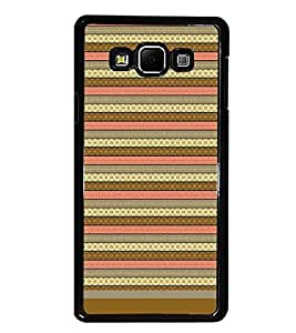 PrintDhaba Tribal pattern D-1805 Back Case Cover for SAMSUNG GALAXY E7 (Multi-Coloured)