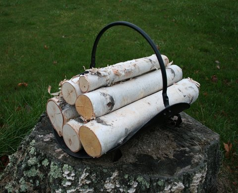 Read About White Birch Log Set for Fireplace