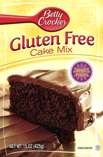 Betty Crocker Gluten Free Devil's Food Cake Mix, 15-Ounce Boxes (Pack of 6) at Amazon.com