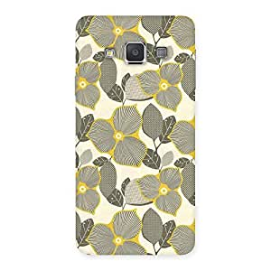Stylish Unknown Creature Print Back Case Cover for Galaxy A3