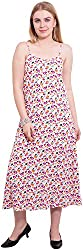 TightHugs Women's A-line Dress (340304909_M, Off-White, Medium)