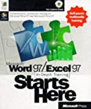 Microsoft Word 97/Excel 97 In-Depth Training Starts Here (1572318740) by Microsoft Press