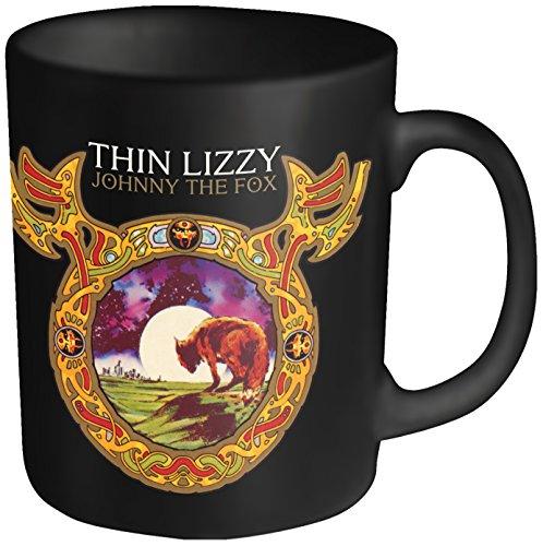 Plastic Head - Tazza, motivo: Thin Lizzy-Johnny The Fox, colore: Nero