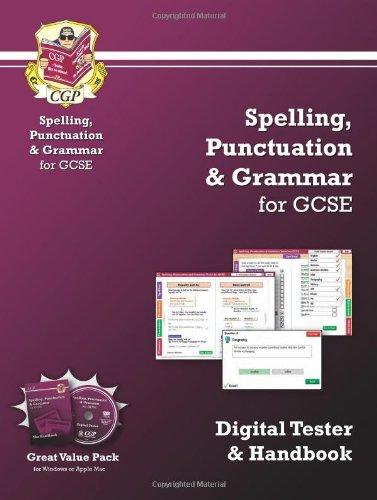 Spelling, Punctuation & Grammar for GCSE - Digital Tester and Handbook