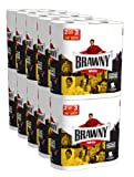 Brawny Giant Rolls White, 2 Rolls, Pack of 10 (20 Rolls) (Packaging May Vary)