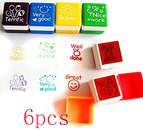 6pcs-schule-lehrer-familien-stempel-aufkleber-selbstfarbestempels-lob-belohnung-briefmarken