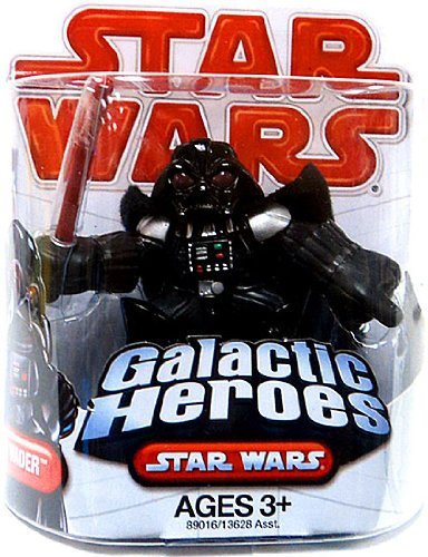 Star Wars Galactic Heroes Action Figure Darth Vader - 1