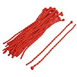 30 Pcs Red Nylon Strand Braiding String Ankle Bracelet Rope