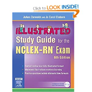 Illustrated Study Guide for the NCLEX-RN½ Exam,   by JoAnn Zerwekh MSN EdD RN