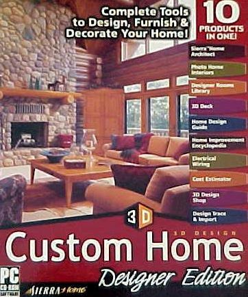 Sierra 3D Design Custom Home, Designer Edition