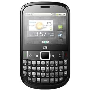 ZTE Tureis Smartphone (Qwerty Tastatur, HSDPA, 3,2 Megapixel Kamera, Android 2.3 Gingerbread)