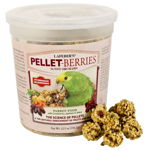 Image of Lafeber's Pellet-Berries Sunny Orchard, Parrot, 12.5oz (B006P452YY)