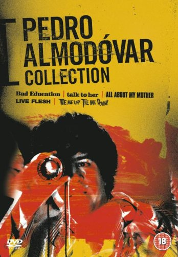Pedro Almodvar Collection (Bad Education / Talk to Her / All About My Mother / Live Flesh / Tie Me Up! Tie Me Down!) [Region 2]