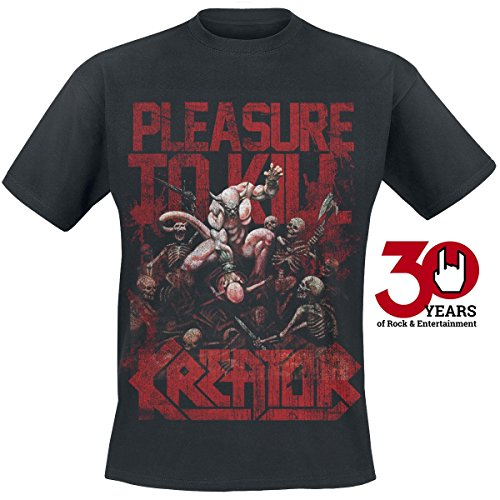 Kreator Pleasure To Kill T-Shirt nero XL