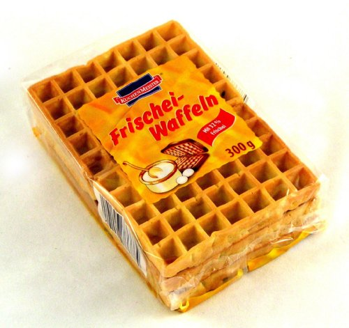 German Kuchenmeister Fresh Egg Waffles - 300 g