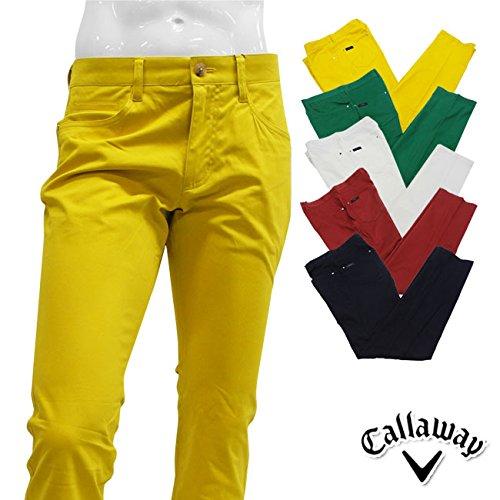 (キャロウェイ) Callaway MENS (メンズ) ストレッチスリム ロングパンツ 241-5220714 ボトムス ゴルフ用品 S (070)ボルドー