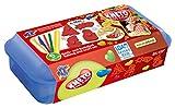 Feuchtmann Juguetes 6219051 - Kneto Bake and Play amasado y horneado conjunto X-Mas, 4 moldes, 10 pieza