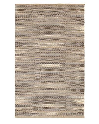 L. R. Resources Fiber Plush Indoor Area Rug