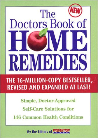 Doctor'S Book Of Home Remedies: Simple, Doctor-Approved Self-Care Solutions For 146 Common Health Conditions front-468932